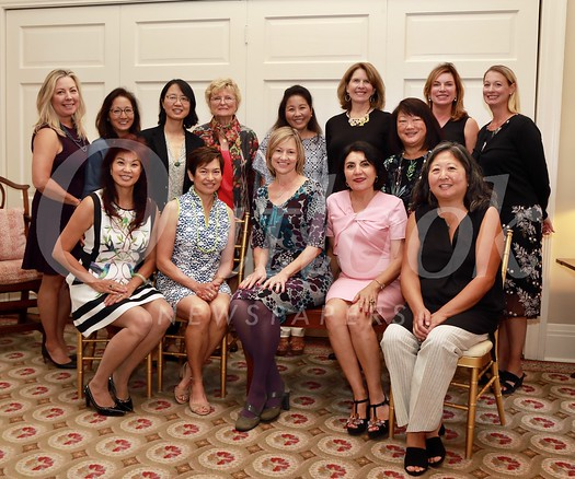 Board members Patricia Tom Mar (seated, from left), Lisa Wong, Debra Spaulding, Shana Bayat and Marian Dundas. Back: Gretchen Shepherd Romey, Karen Quon, Ming Jiang, Evelyn Pederson, Ann Kunitake, Wendy Taylor Greenleaf, Mary Swanton, Birgit Castleman and Cori Solan.