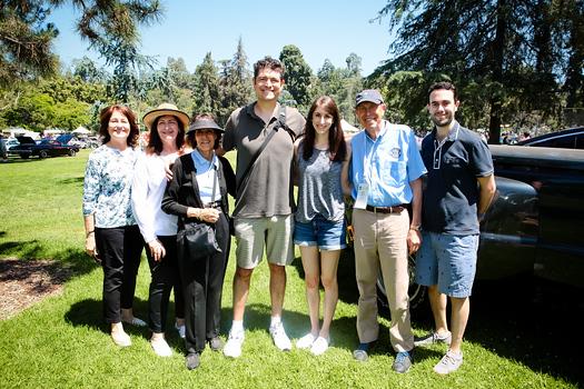 Vivian Gumbiner, Vicki Waller, Valerie Weiss, Adam Weiss, Aileen Zucker, Aaron Weiss and Zack Zucker